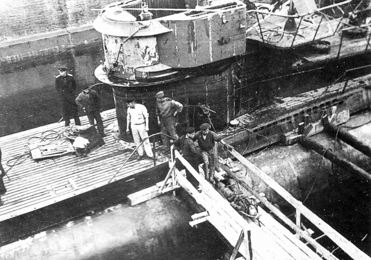сколько погибло советских подводных лодок