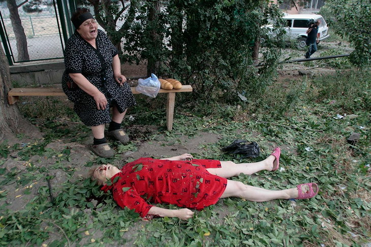 Силовики не ведут военные действия в жилых кварталах Славянска: мы работаем только против боевиков, - Селезнев - Цензор.НЕТ 2231