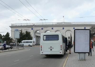 Посадка в автобус безбилетного пассажира