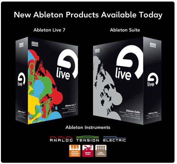 Ableton Live v.7.0.1 WORKING.